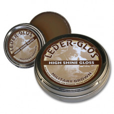 Leder Glos MoD Brown Boot Wax Large 80g
