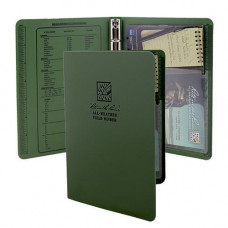 RITR Tactical Field Ring Binder Olive Green