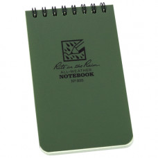 RITR All-Weather Notebook (935) Olive Green