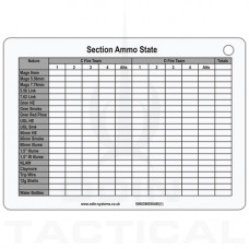 A6 Section Ammo / Casualty State Slate Cards