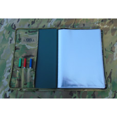 A4 Lightweight Battle Folder & 30 Page Nirex - Multicam
