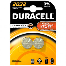 Duracell Twin pack CR2032 Replacement Battery Suunto Core/Petzl E-Lite