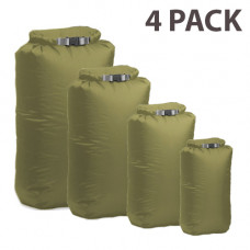 Exped Waterproof Dry Bags Pack of 4 (XS, S, M & L)