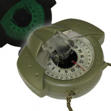 Iris 50 self-illuminating Compass - Military Mils Zone A