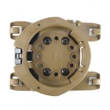 Radar 1957 Molle Mountable Rotating Disc Connector - Tan