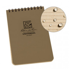 RITR All-Weather Notebook (946T) Tan