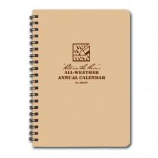RITR All-Weather Calendar (Spiral Notebook)