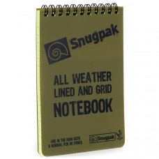 Snugpak Water Resistant Notebook (4x6)