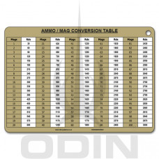 A5 Ammo/Mag Conversion Slate Cards